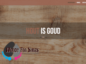 Gratis downloads van WordPress themes - Woody Too Shoes